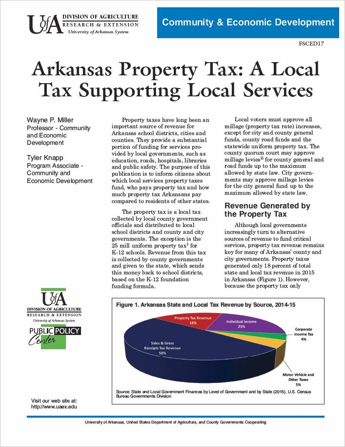 fact sheet for property tax