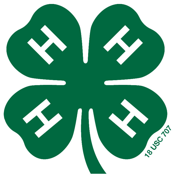 4-H logo with green clover