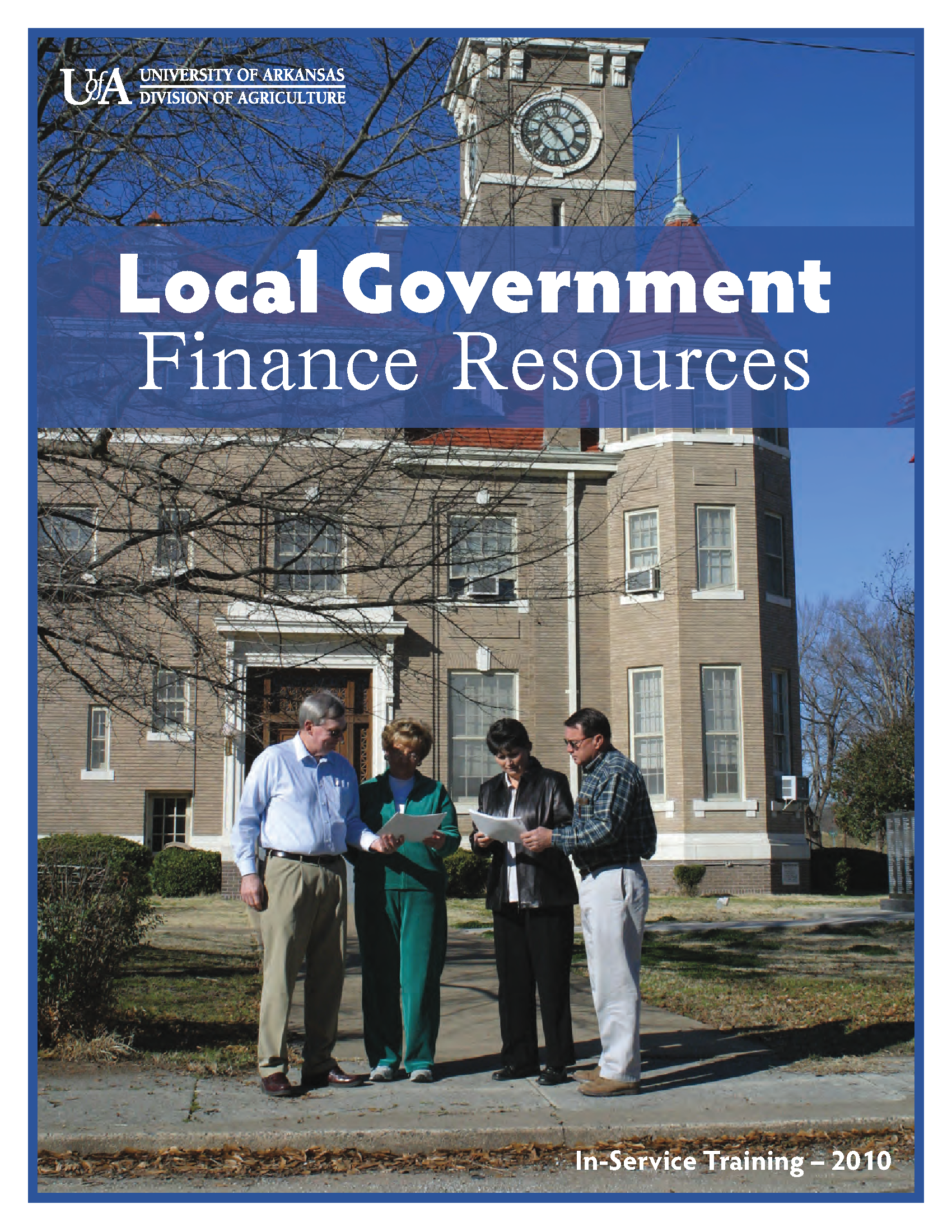 local government finance publication cover