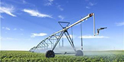 picture of center pivot in field